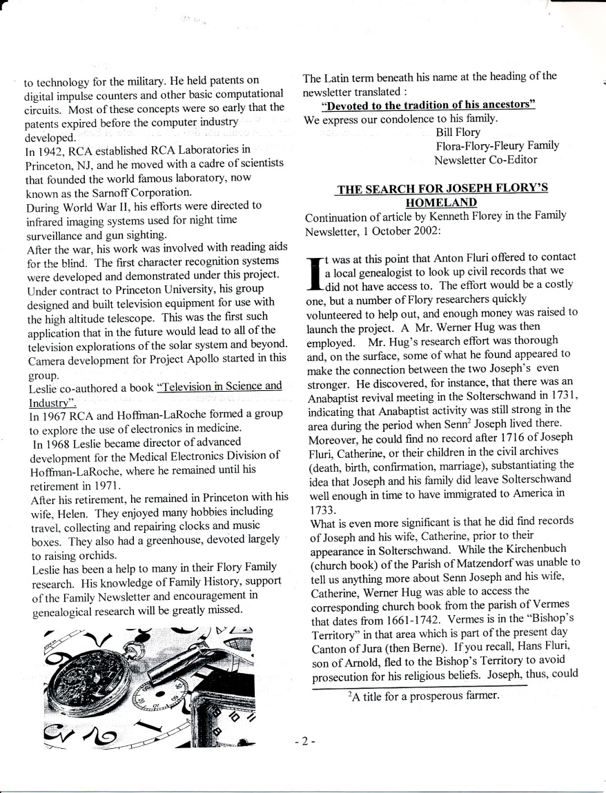 FFF Newsletter  Vol. 16, No. 1  January 2003_0002