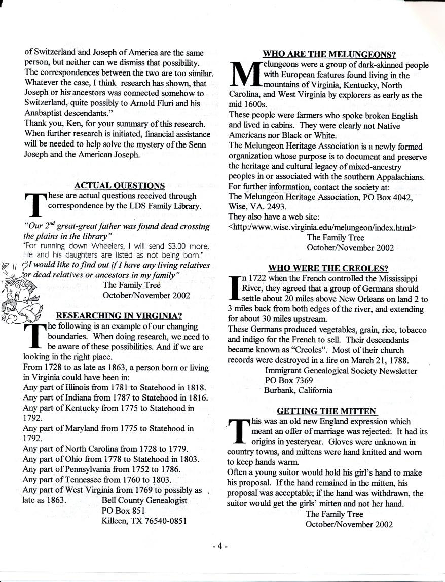 FFF Newsletter  Vol. 16, No. 1  January 2003_0004