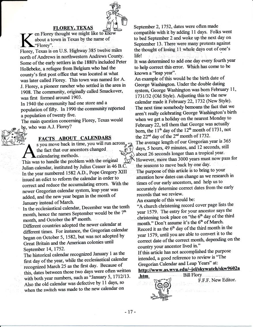 FFF Newsletter  Vol. 16, No. 3   July 2003_0003