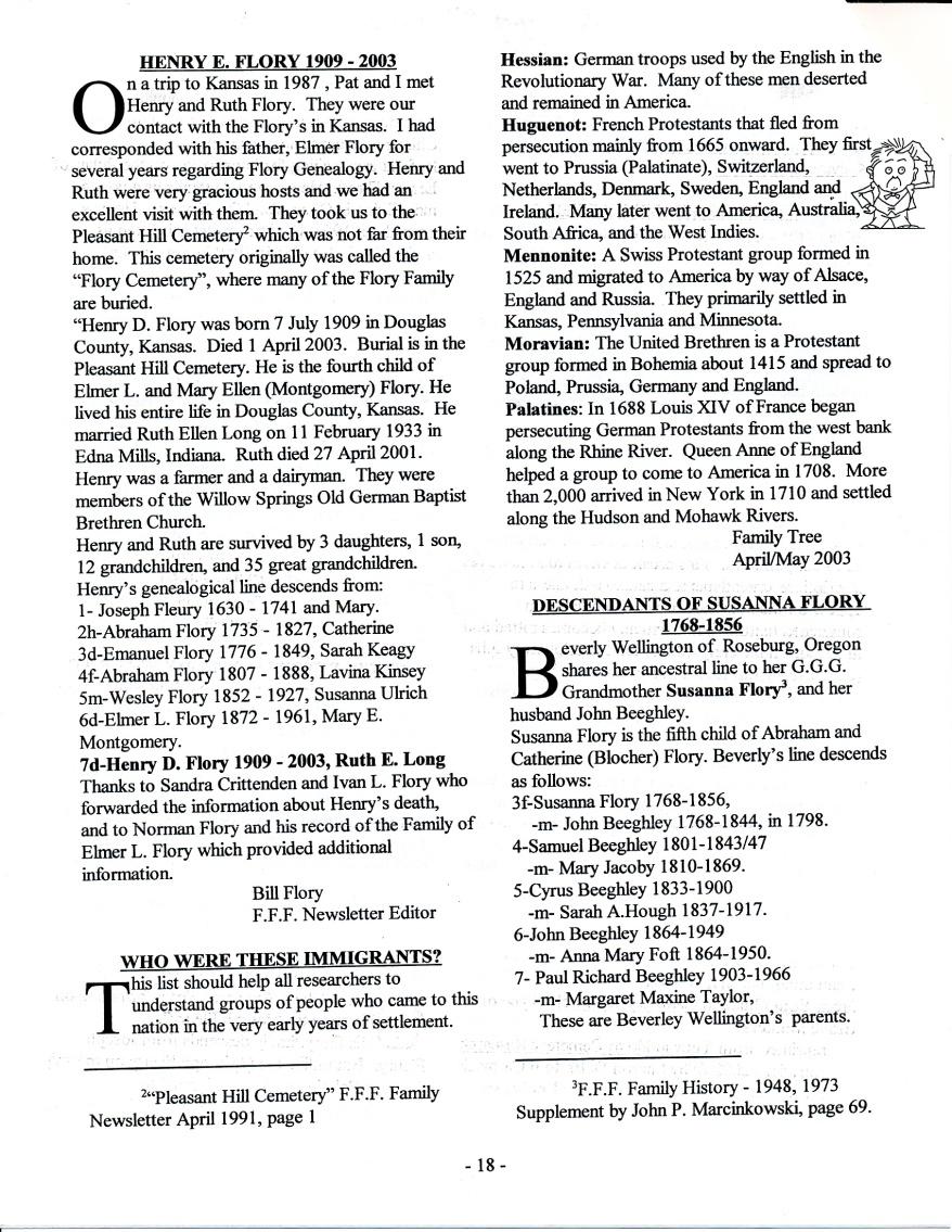 FFF Newsletter  Vol. 16, No. 3   July 2003_0004