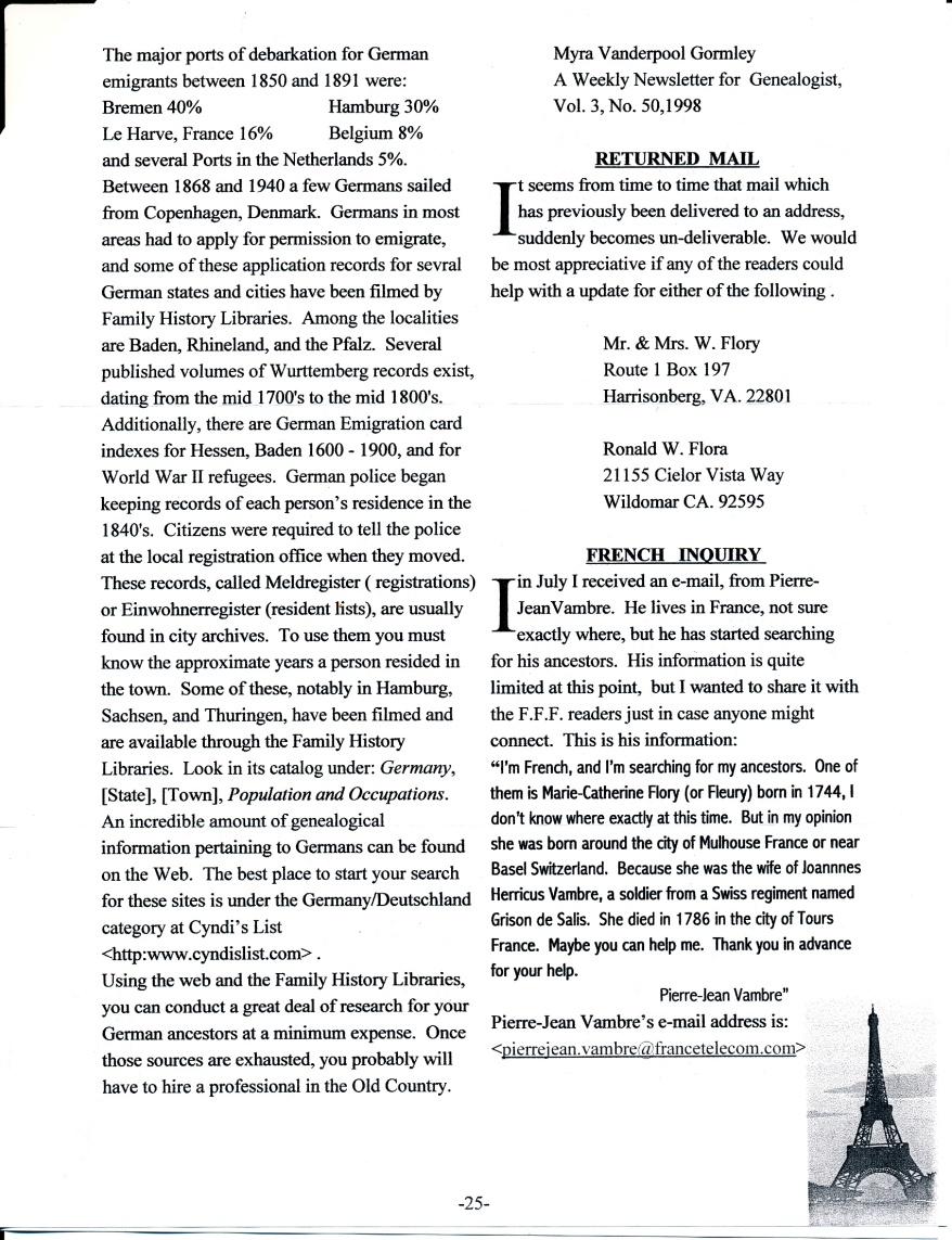FFF Newsletter Vol. 18, No. 4   October 2005_0005