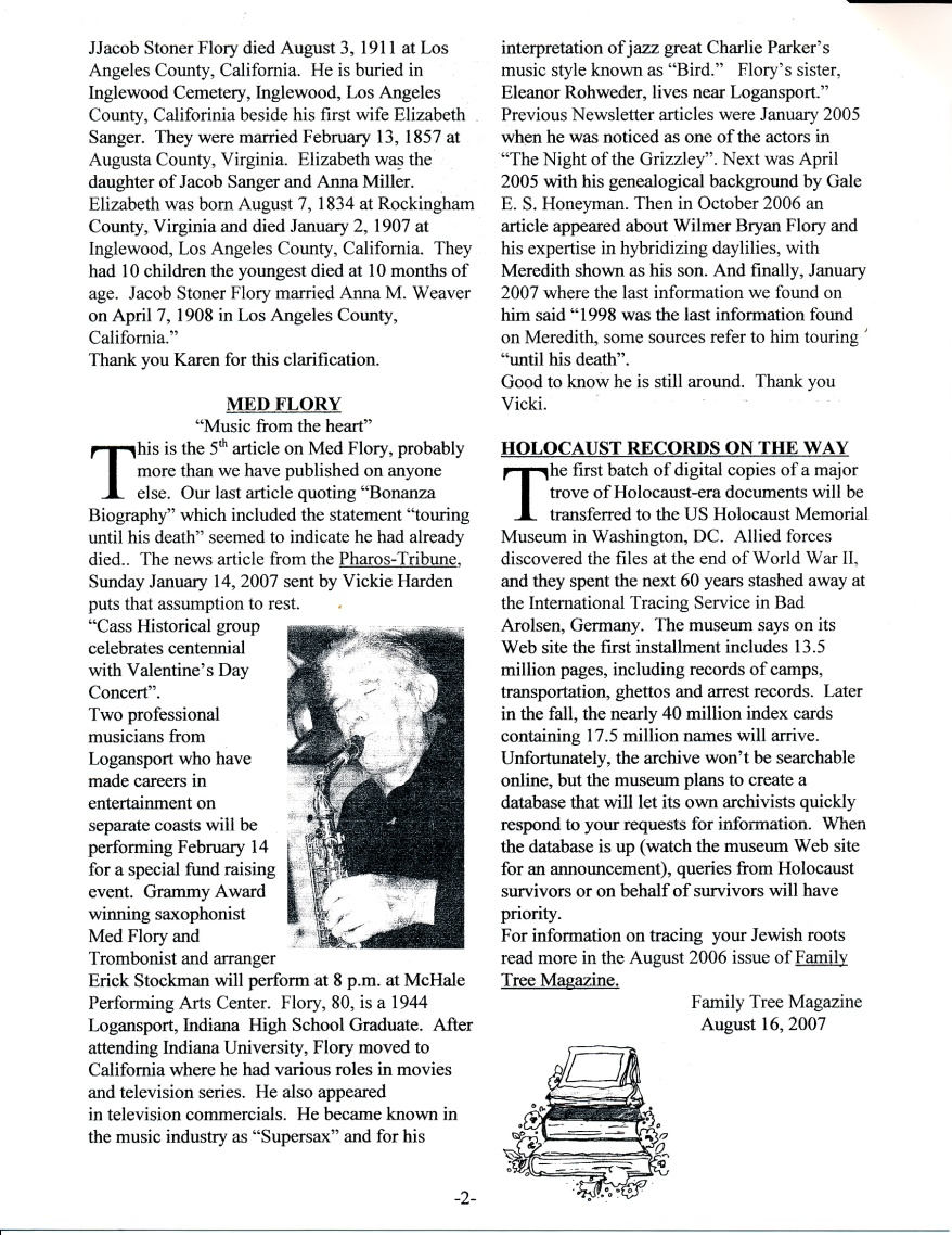 FFF Newsletter Vol. 21, No. 1   January 2008_0002