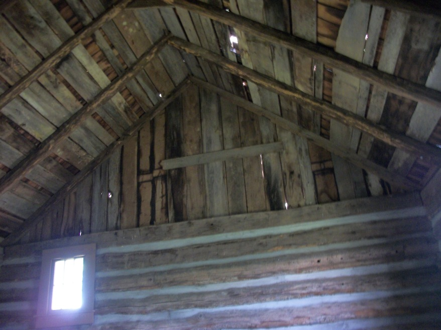 Interior Gable in Flohr House, Wytheville, Virginia photo by Mary Miller