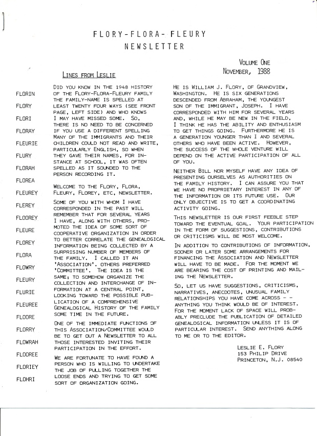 Restoration of the F/F/F Newsletter Archives dating from 1988 to2000