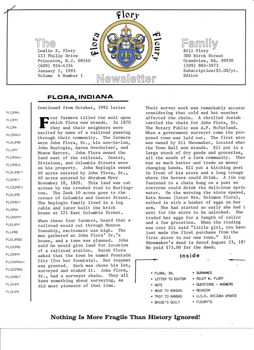 1993 January 1 Vol 6, Nr 1_0001