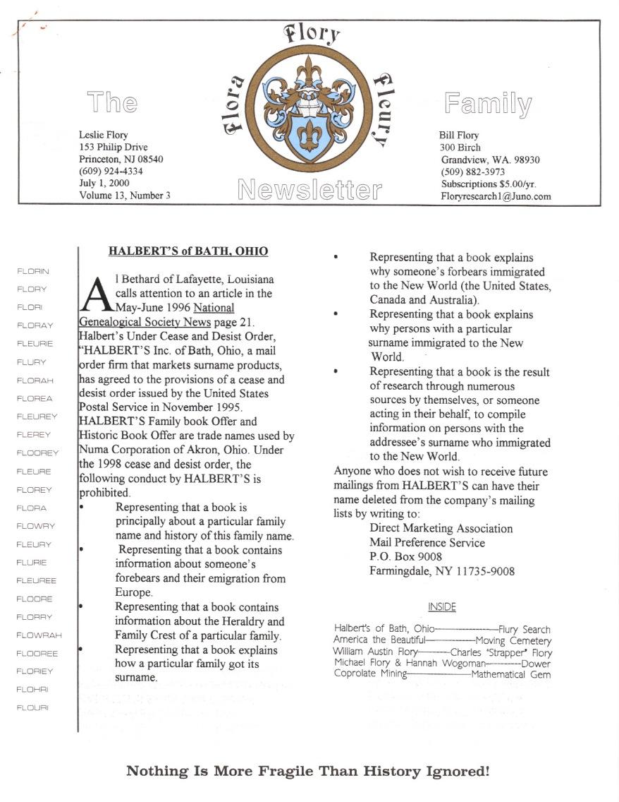 2000 Jul 1 Vol 13, Nr. 3 001